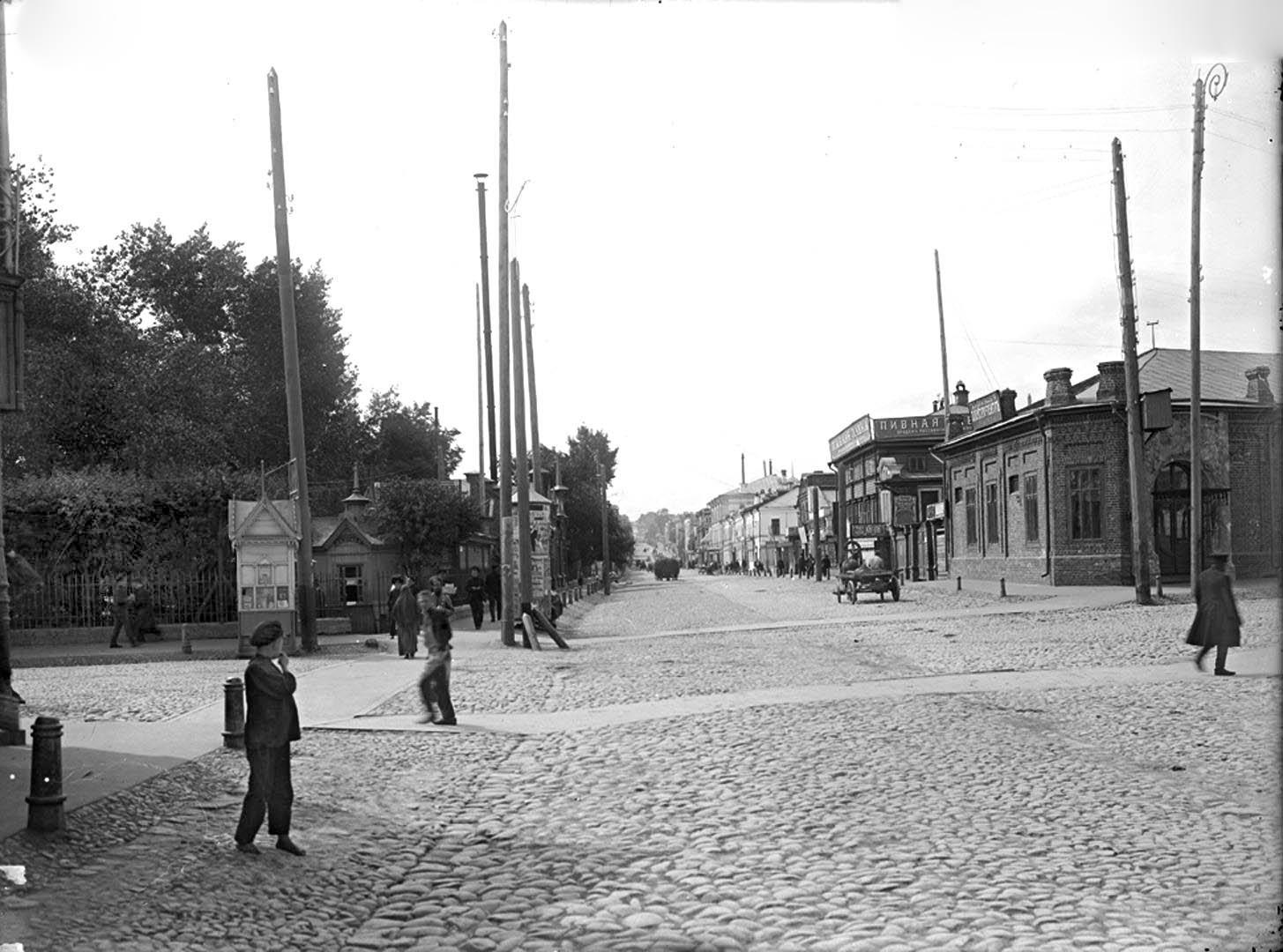 Алексеевская улица. Общий вид