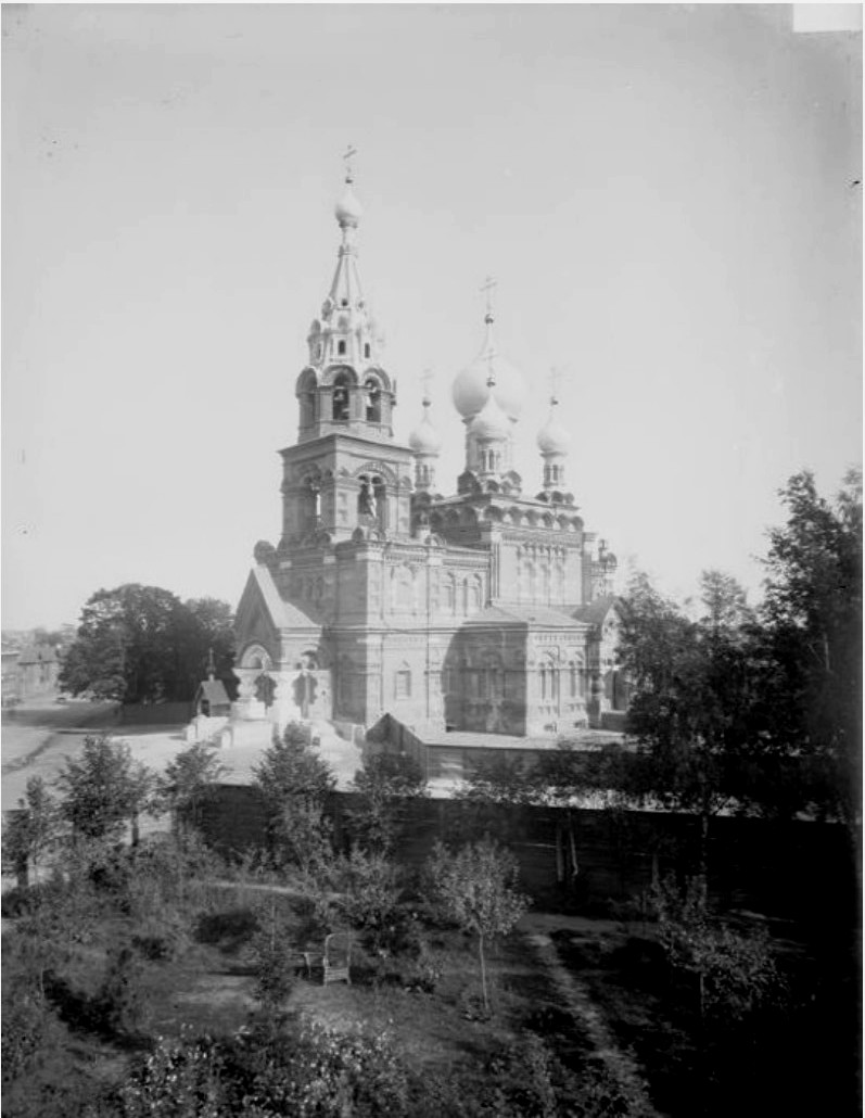 Общий вид Спасской церкви
