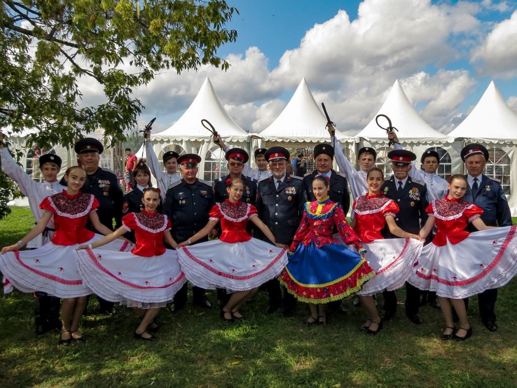 VII Международный фестиваль «Казачья станица Москва»