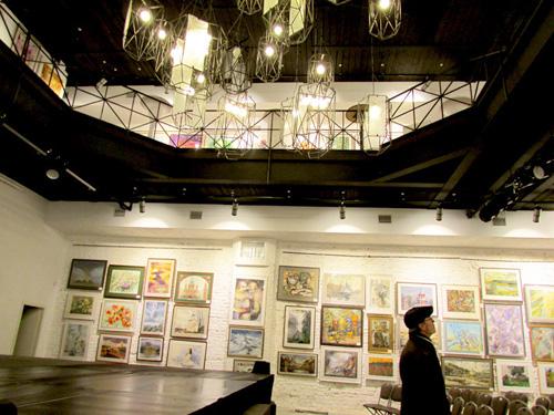 Конюшенный корпус Юсуповского дворца выставка акварели 2017 ноябрь