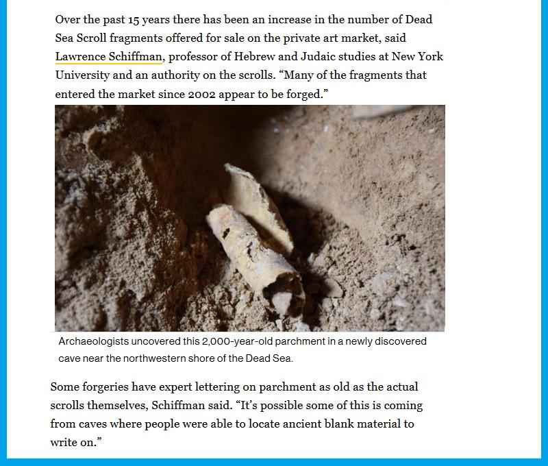 Кумранские рукописи. Свитки Мёртвого моря (3)
