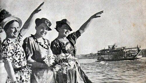 Великая страна СССР,первые женщины герои советского союза,Гризодубова,Осипенко,Раскова
