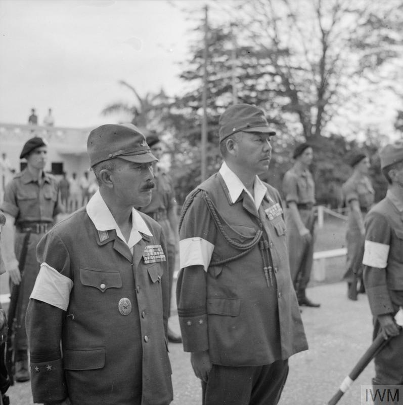 THE BRITISH REOCCUPATION OF MALAYA