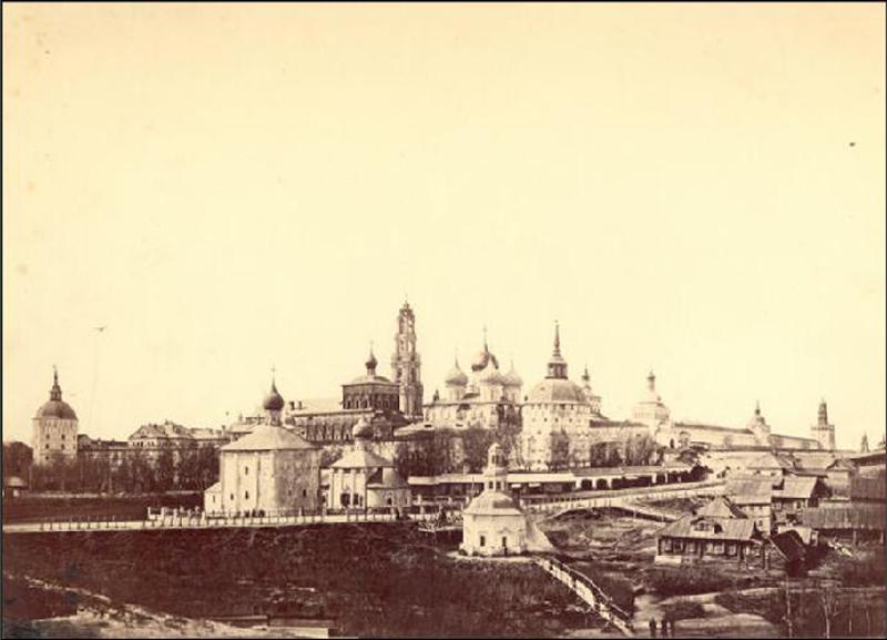 Самые старые снимки Троице-Сергиевой лавры (попытка датировки)