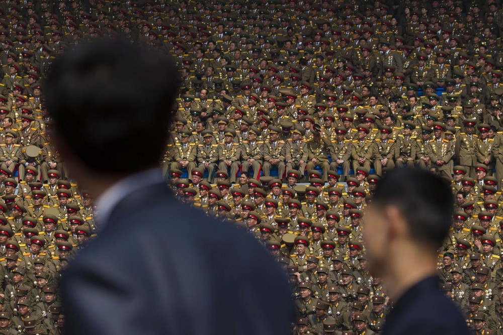 Северная Корея на снимках Дэвида Гуттенфельдера