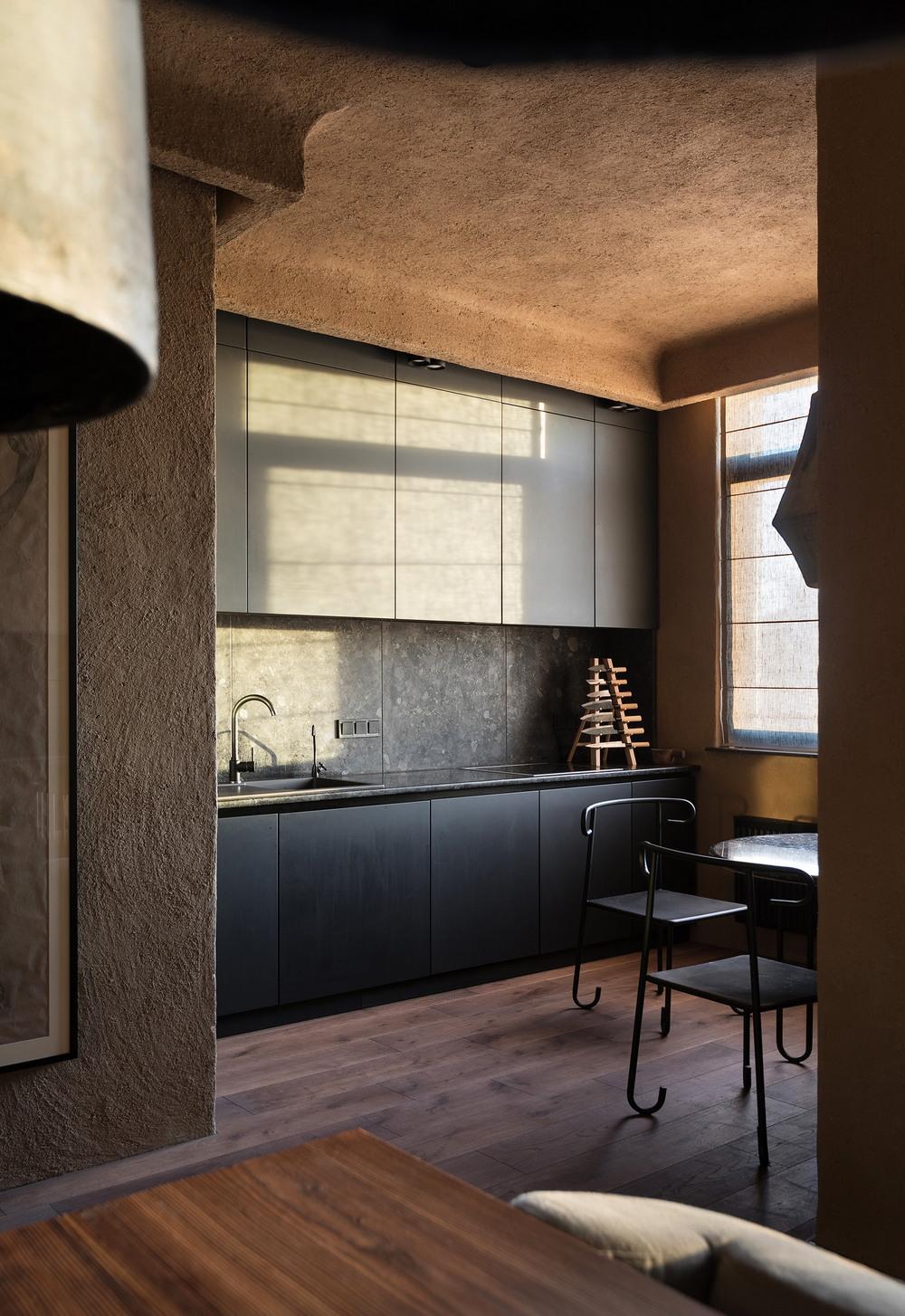 Двухэтажная квартира архитектора в Киеве