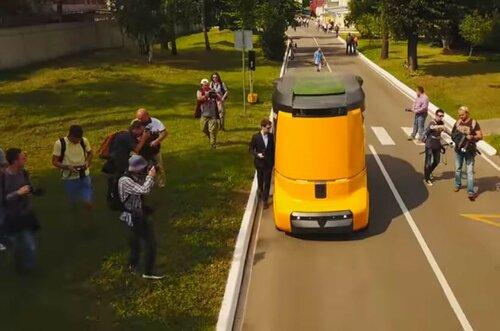 Электромобиль Матрешка проходит испытания в российских городах