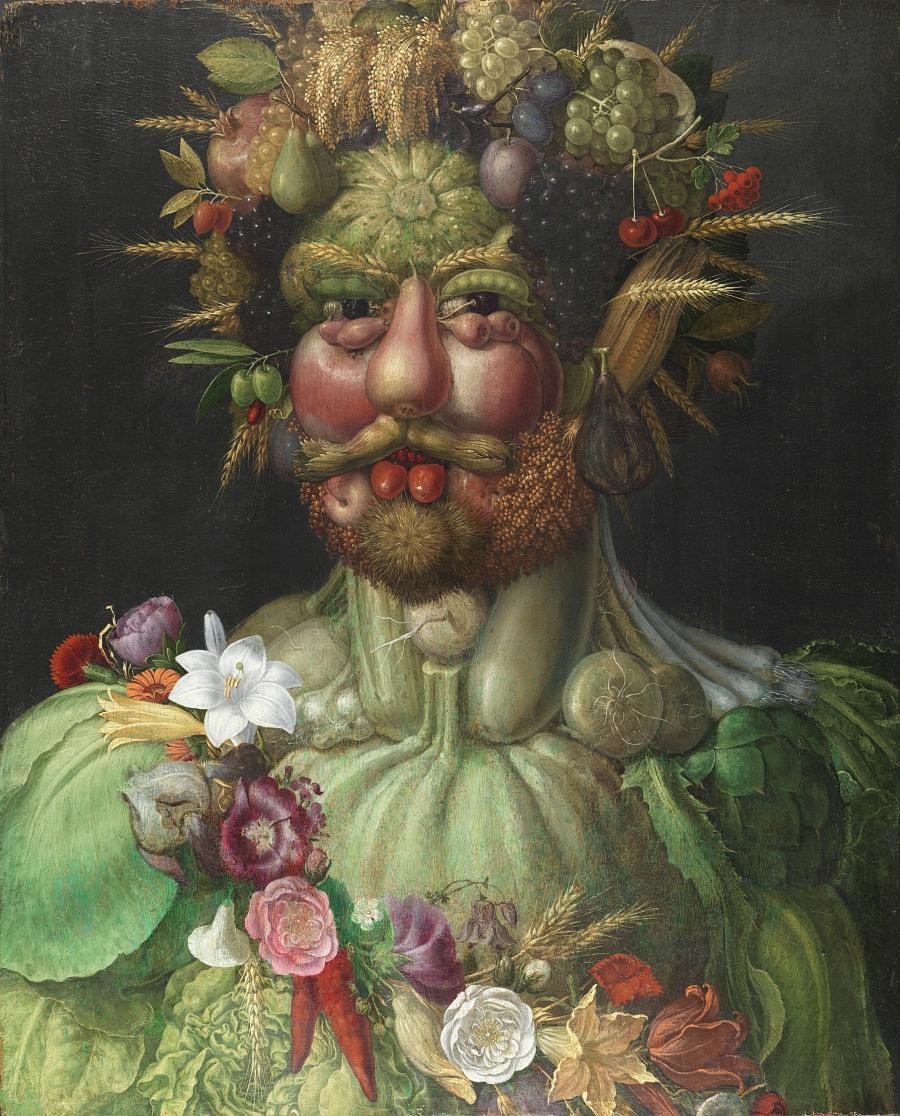 «Смешные картины» Джузеппе Арчимбольдо (1527 — 1593)