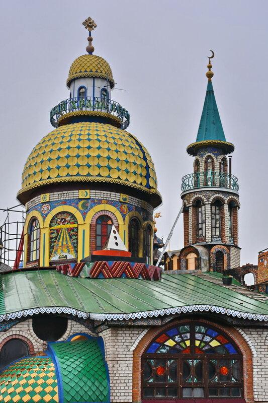 Купола Вселенского храма
