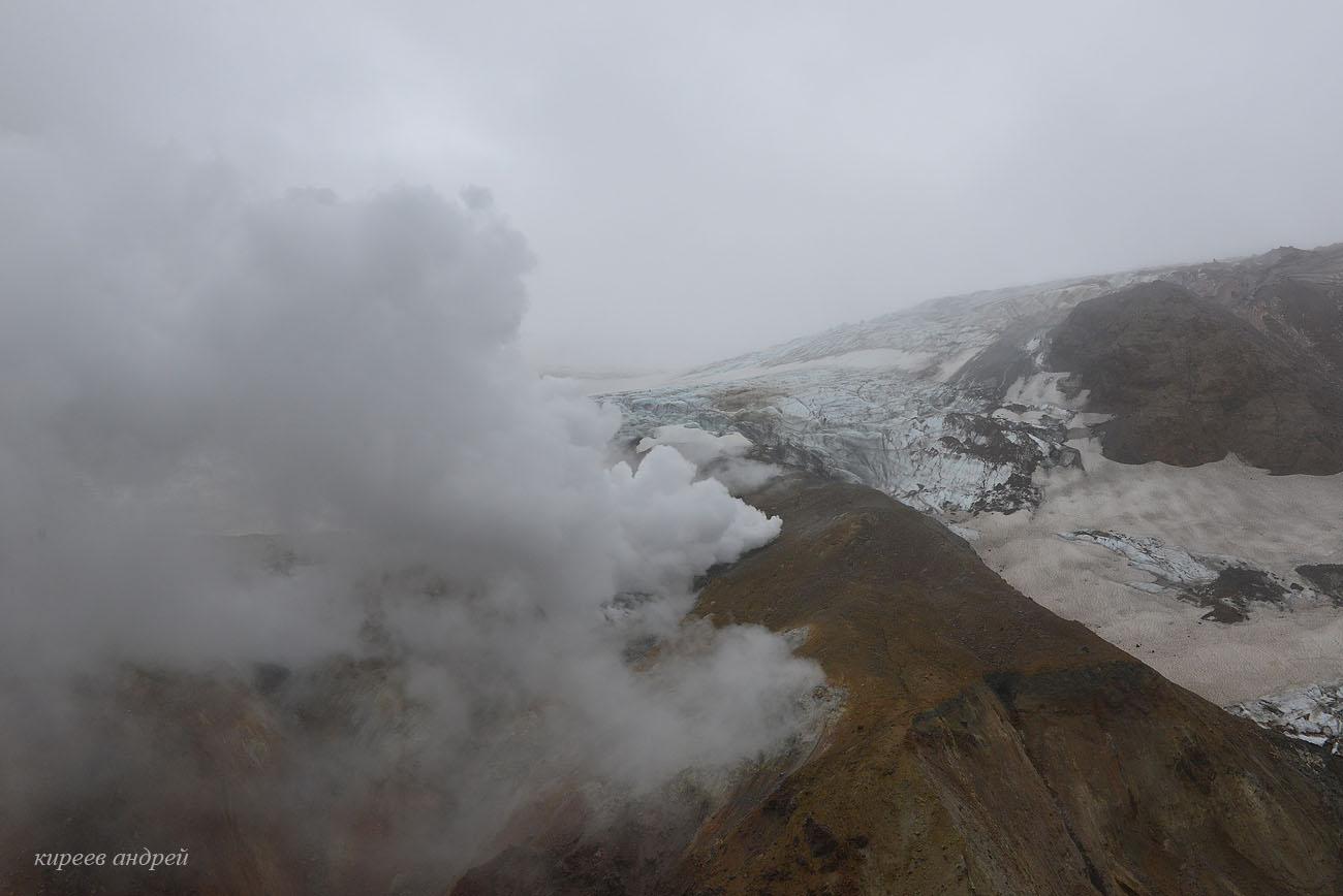 Мутновский вулкан.