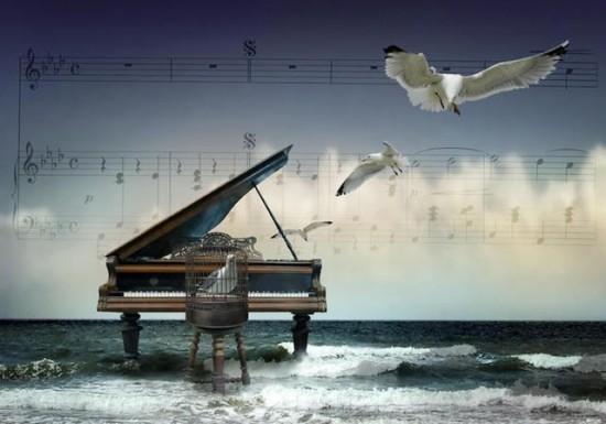 С днем музыки. Музыка моря открытки фото рисунки картинки поздравления