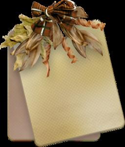 осенние карточки, осенний декор