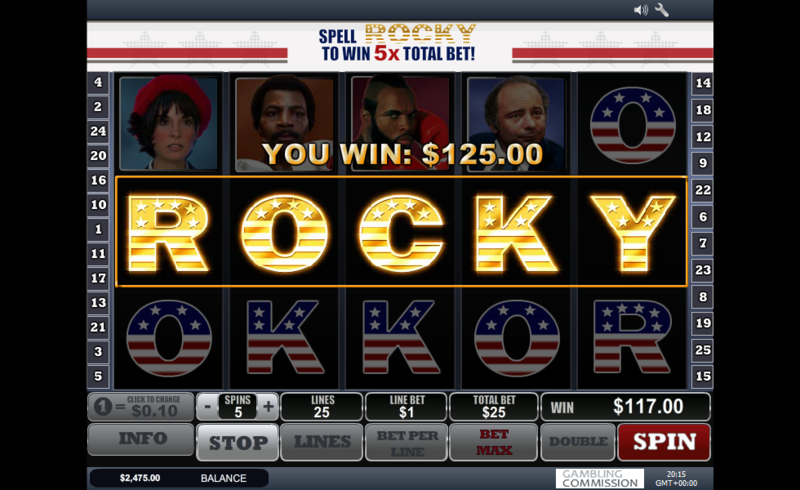 rocky slot spell to win