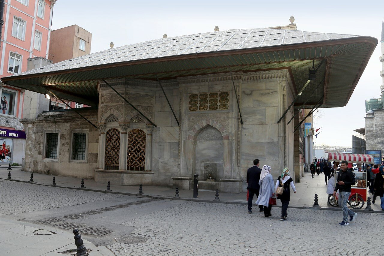Istanbul. The fountain of Hatice Turhan Sultan (Hatice Turhan Sultan Sebil ve Çeşmesi)