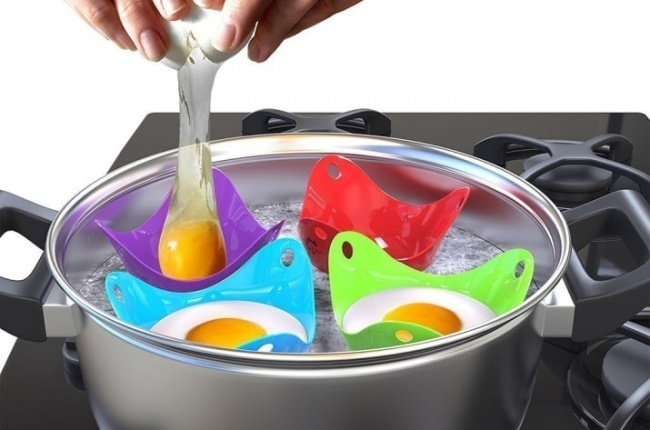 © amazon  Удивляйте гостей иблизких спомощью этих приспособлений для отваривания яиц. Сними