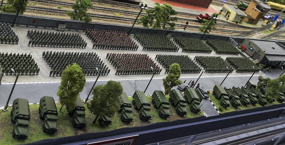В техзоне проводят регламент военной техники.