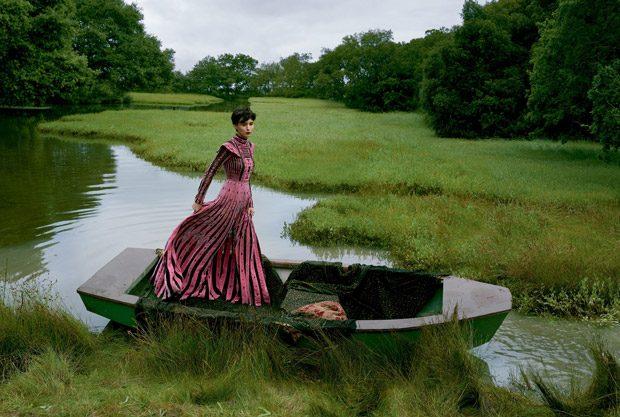 Руни Мара в американском Vogue