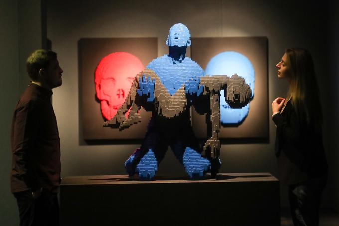 Выставка настолько вдохновляет, что желание собрать свое собственное произведение искусства окончате