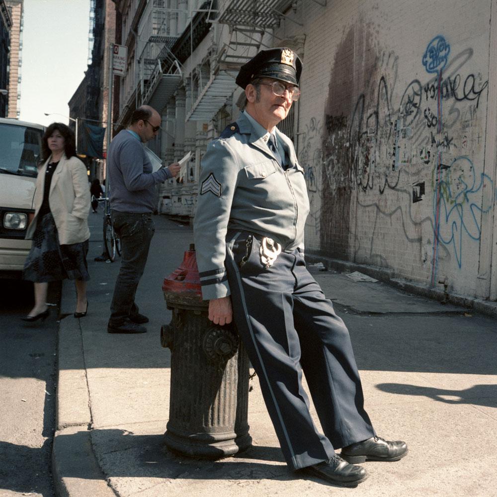 Полицейский, 1986