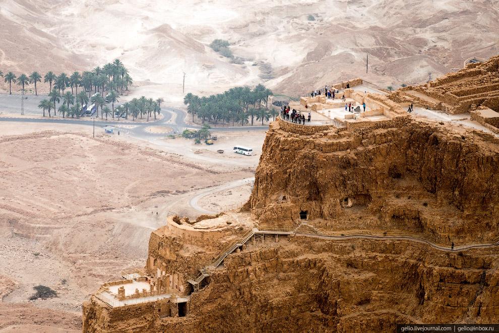 47. В первом веке нашей эры Масаду захватили участники еврейского восстания против римлян. Осада кре
