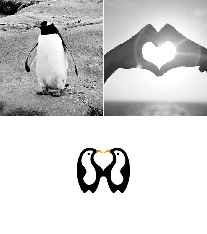 Сочетая несочетаемое: дизайнер из Индии создает логотипы из случайных изображений (13 фото)