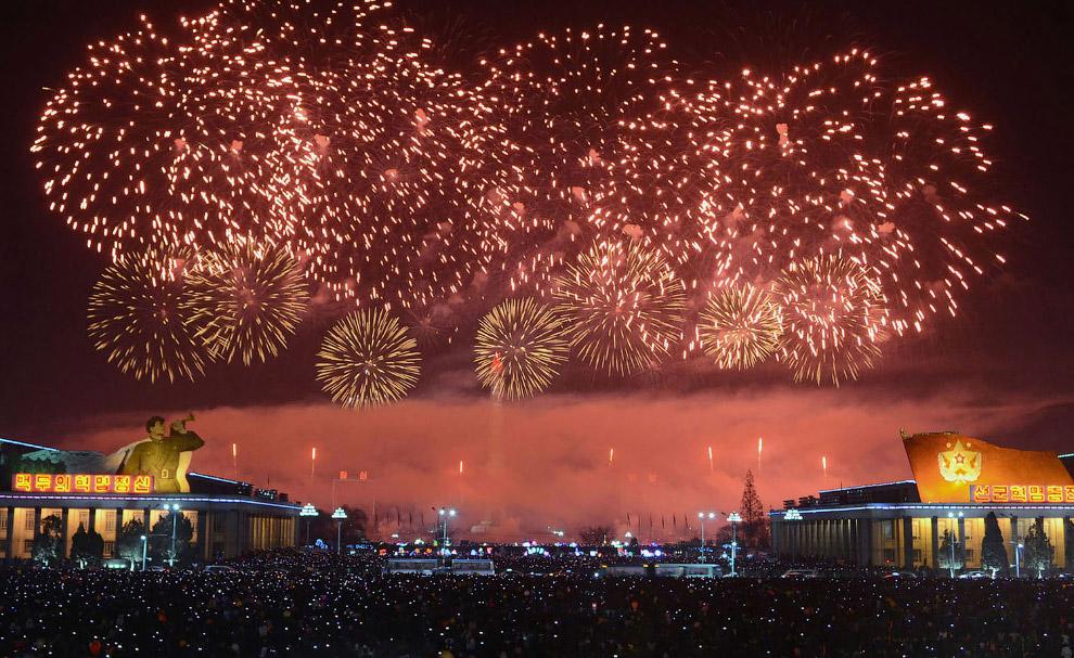 16. Новогодний Лондон. (Фото Jack Taylor):