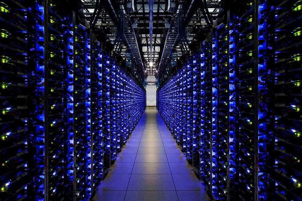 Google также предложила пользователям совершить виртуальную экскурсию по дата-центру в Северной Каро