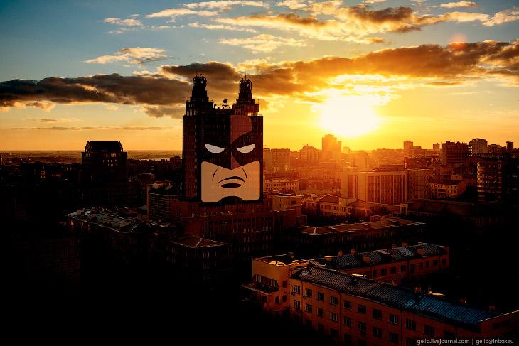 Фотографии и текст Славы Степанова   1. Новосибирск, несмотря на свой «столичный статус», вышел