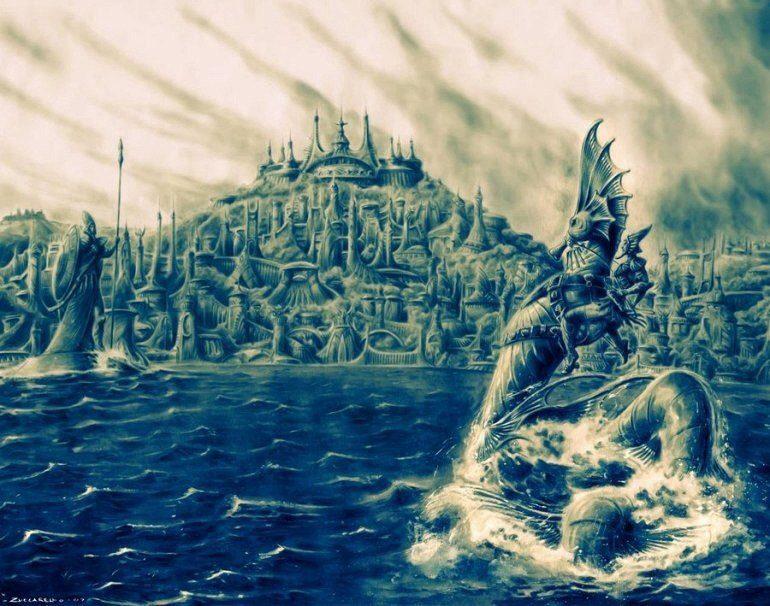 Атлантида: за или против? (1 фото)