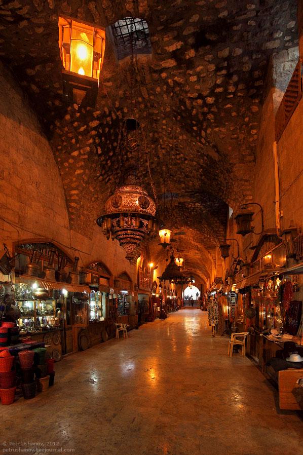 Алеппо - крупнейший город в Сирии