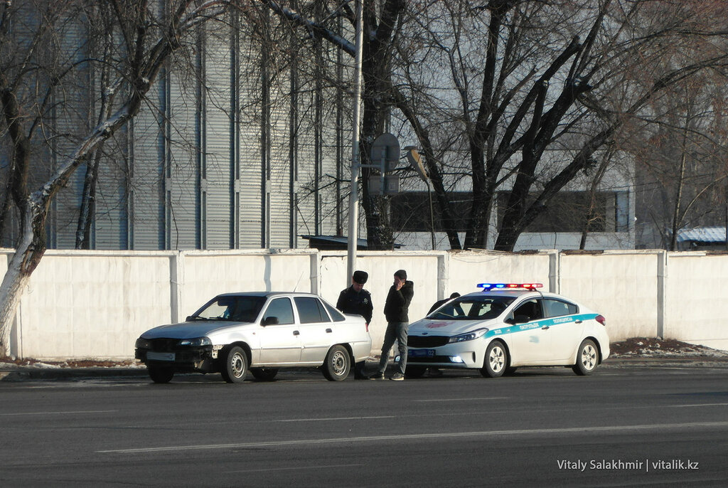 Полиция Турксибского района.