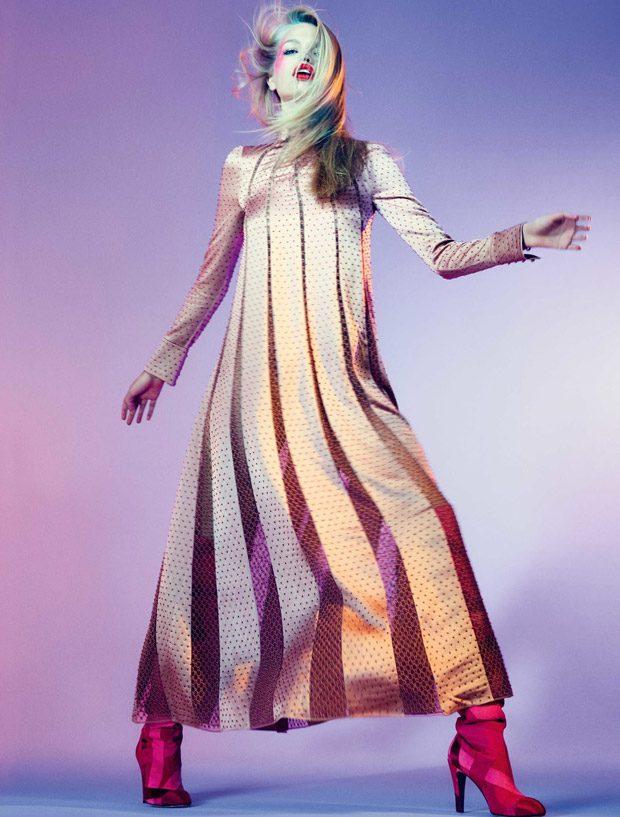 Daphne Groeneveld Stuns in Calvin Klein for Elle Brazil August 2017 Cover
