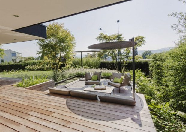 Use Your Backyard    Sometimes, to find additional space in your home you have to be willing to