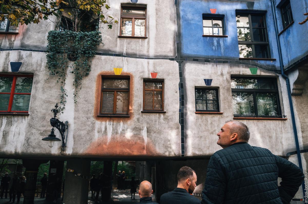 alpinexp, Вена, Австрия, Дом Хундертвассера