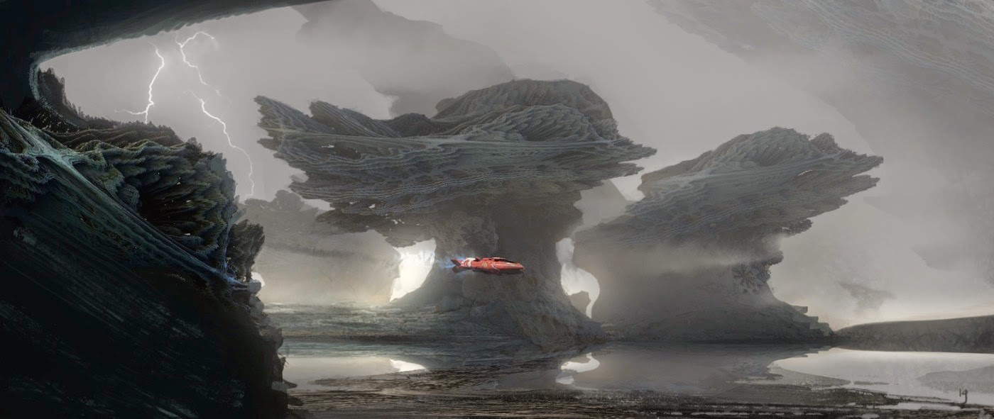 Guardians of the Galaxy Concept Art by Kev Jenkins (29 pics)