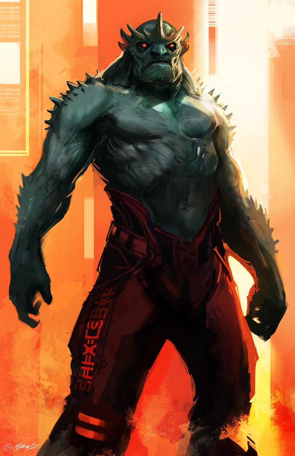 Guardians of the Galaxy Concept Art by Jerad Marantz