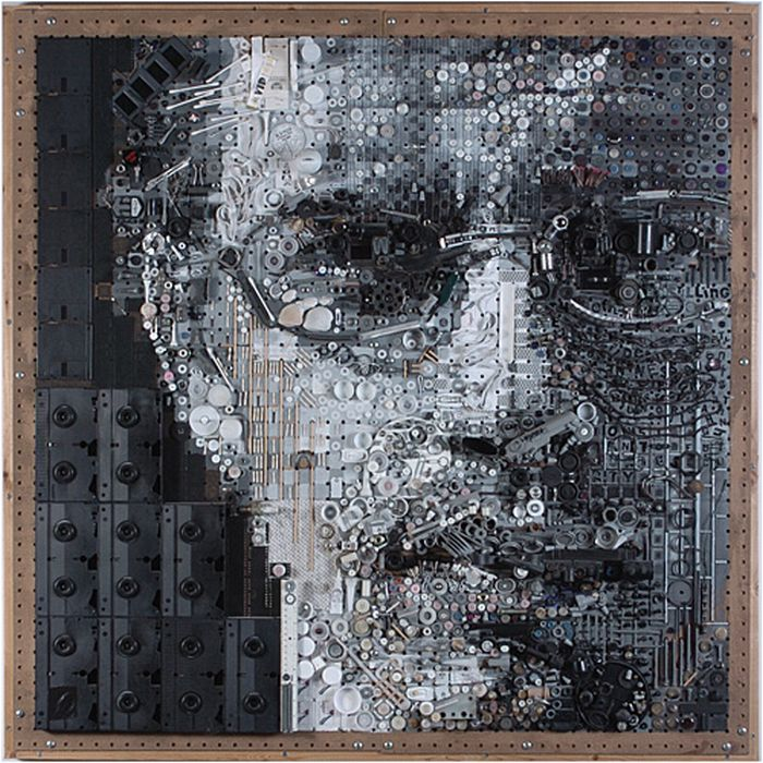 Assemblage Mosaic Portraits - Zac Freeman