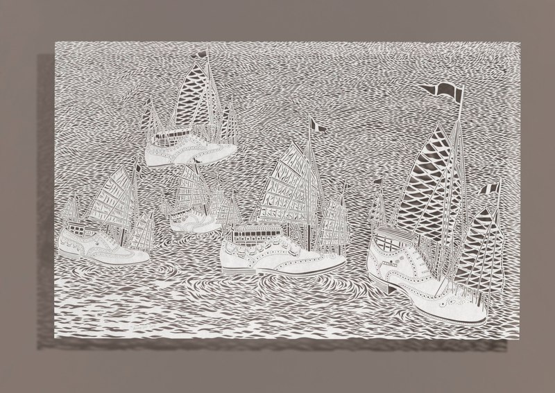 Paper Art - Bovey Lee