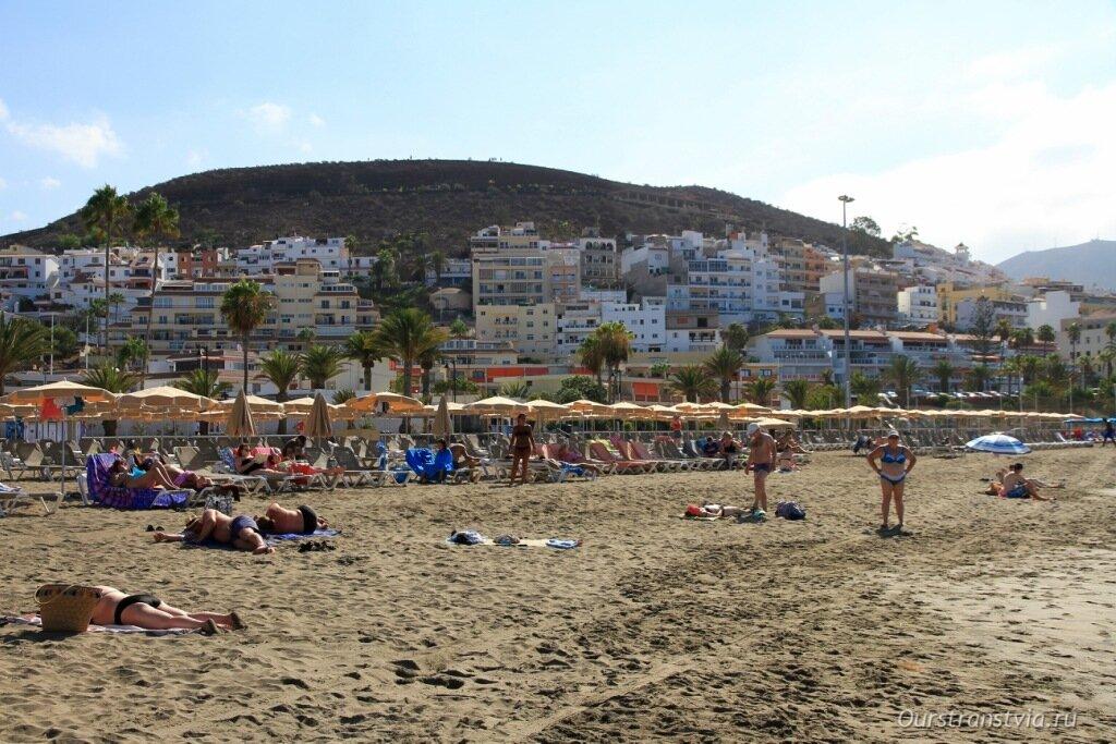 Пляжи Лос Кристианоса