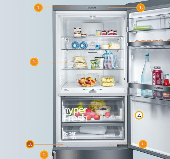 Холодильники SIEMENS в Краснодаре, купить холодильник