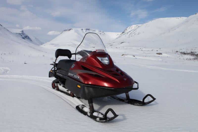 Описание технических характеристик снегохода