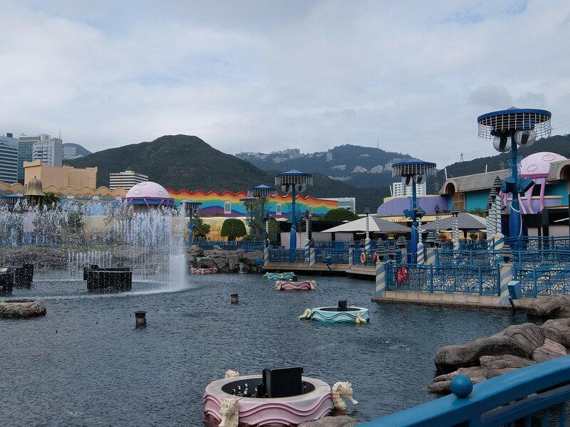 Гонконг - Oкеанический парк - Пруд