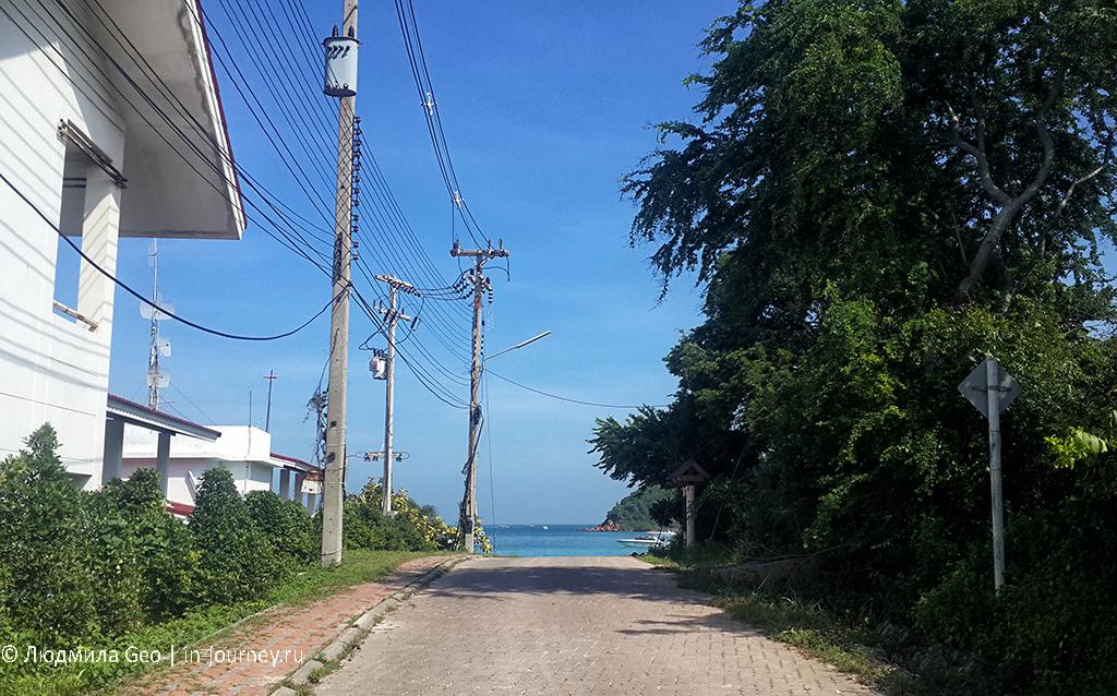 пешком на tien beach