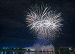 Фейерверк на день города Москвы 09.09.2017