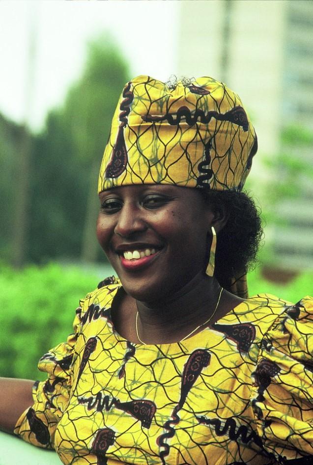 Дизайнер одежды из Ганы в Москве