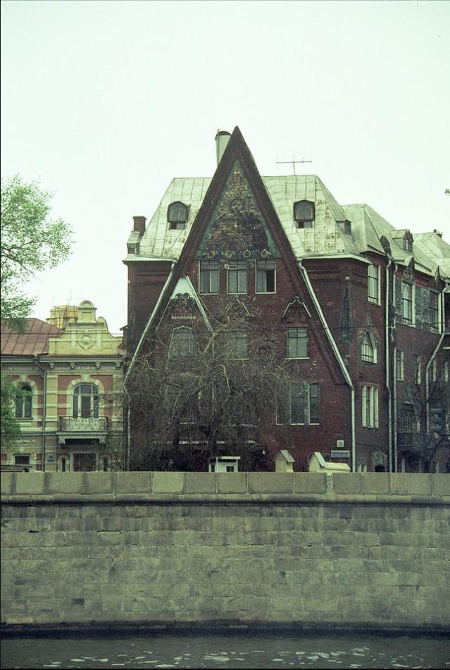 Московские крыши с прогулочного судна