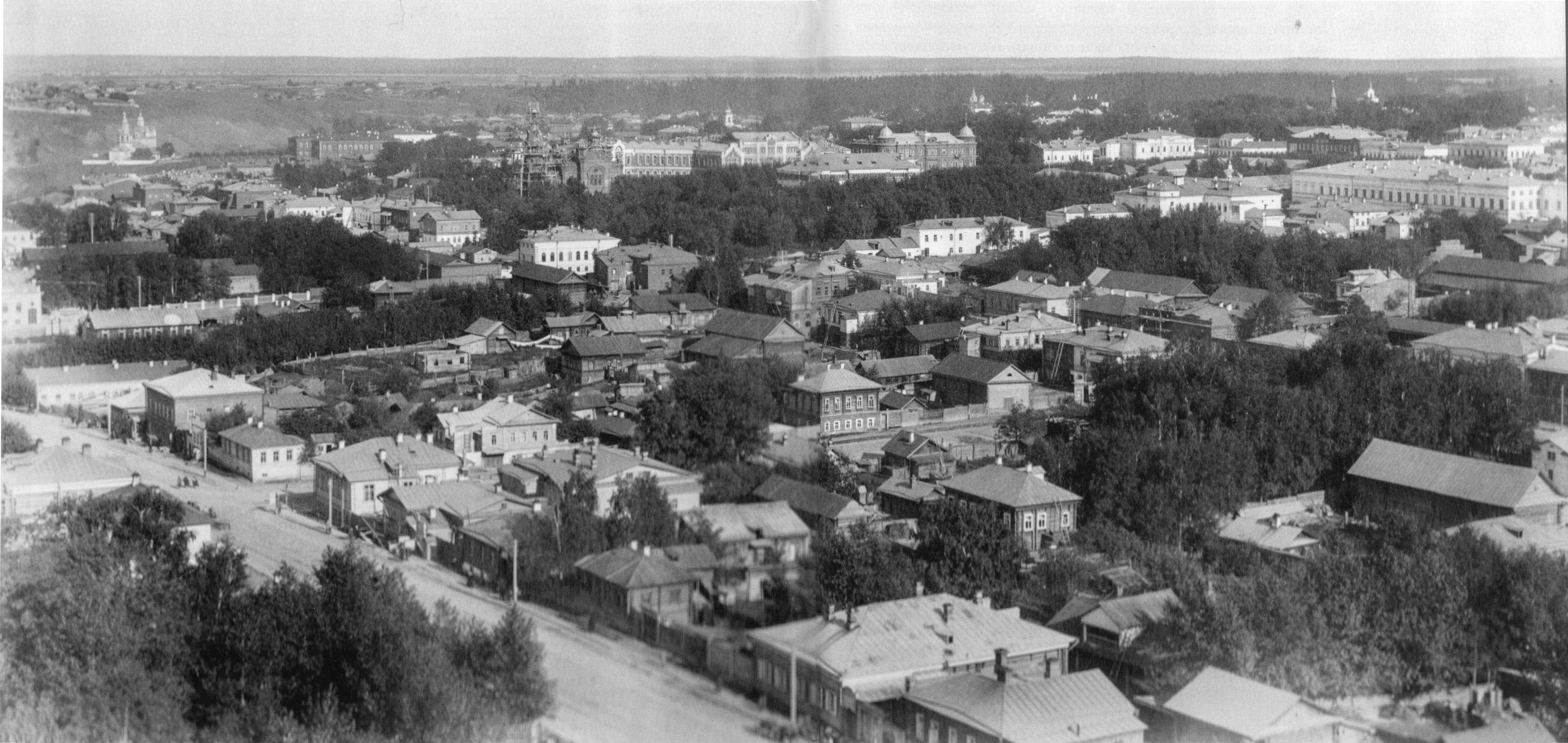 Вид города с Кафедрального собора