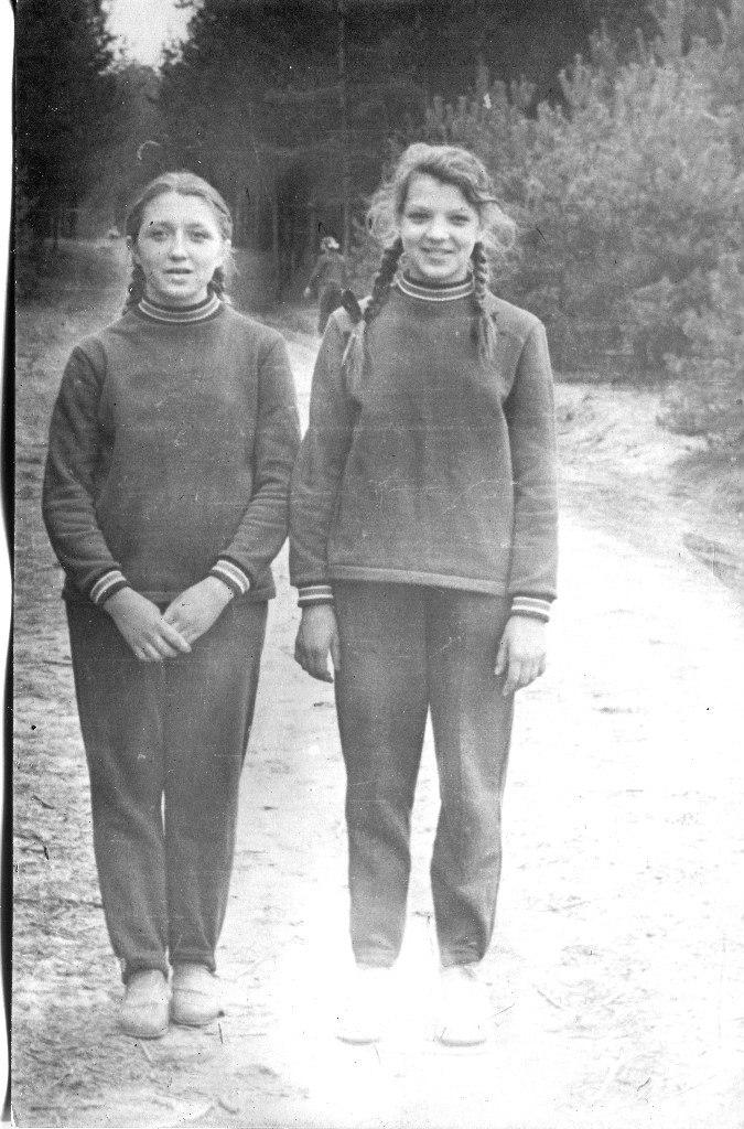 1965. Девочки из школы №117