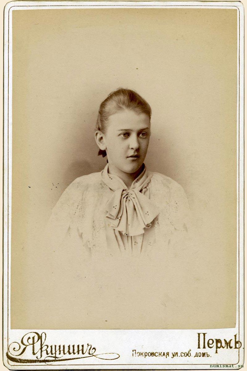 Анна Грибушина (1882-1943 гг.) – последний, пятнадцатый ребенок в семье «кунгурского чайного короля» Михаила Ивановича Грибушина