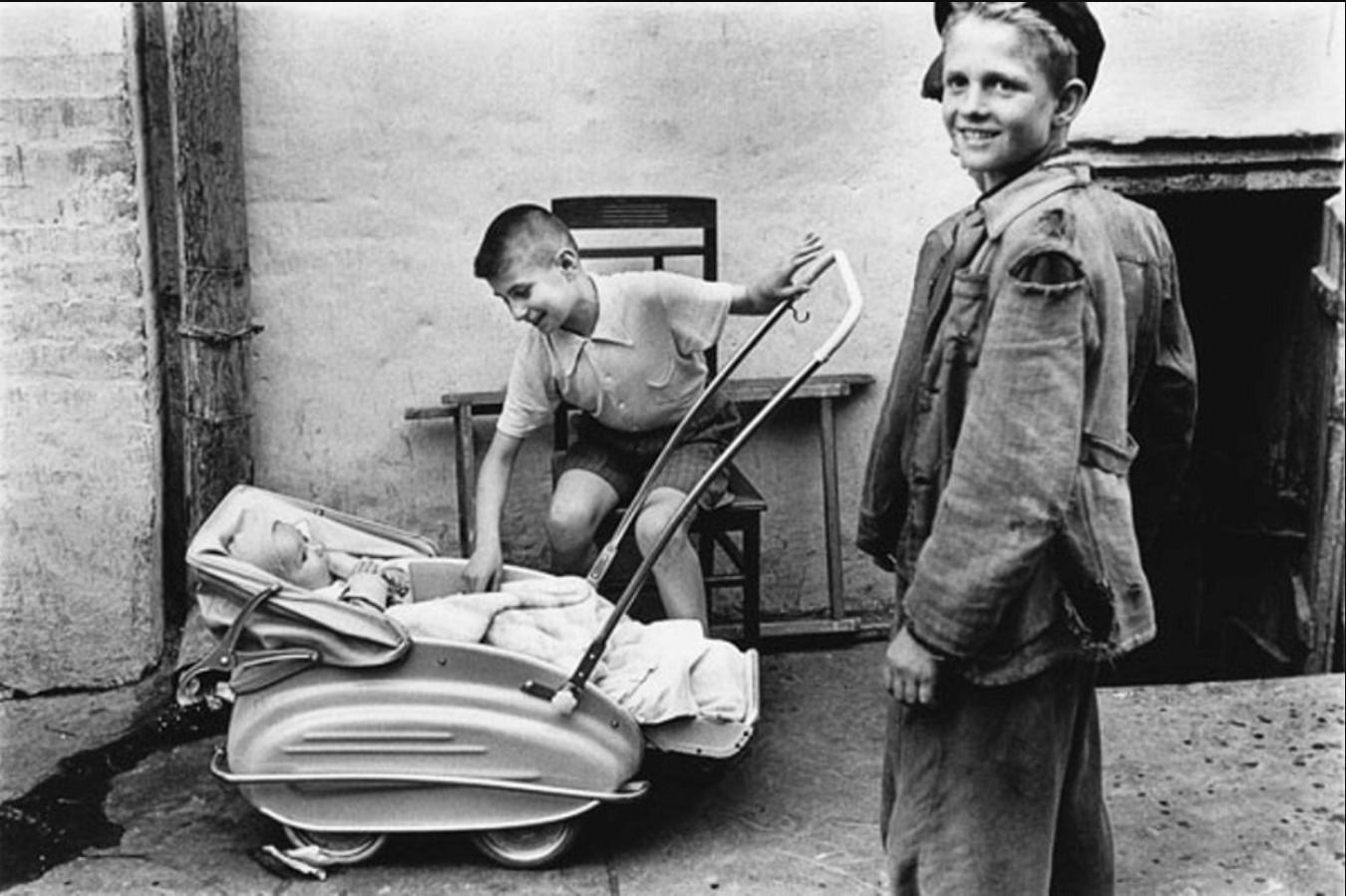 Дети. Киев,1955